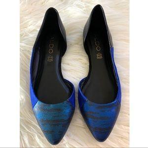 Aldo Blue Flats